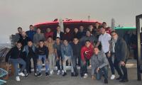 Los jugadores de Municipal compartieron las 12 de la noche de Navidad. (Foto Prensa Libre: CSD Municipal)
