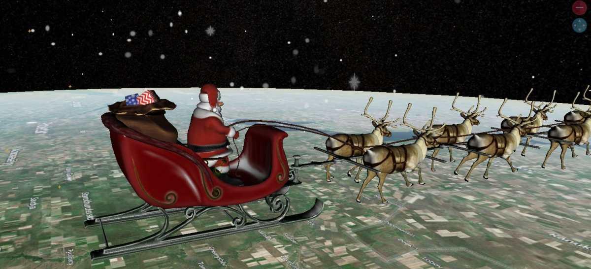 ¡Santa ya está repartiendo regalos! y aquí le decimos cómo puede seguirle el rastro