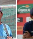 Mauricio Tapia y Sebastián Bini se enfrentarán por tercera ocasión en Clásicos. (Foto Prensa Libre: Luis López y Carlos Vicente)