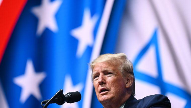 El juicio político contra Donald Trump toma fuerza. (Foto Prensa Libre: AFP)