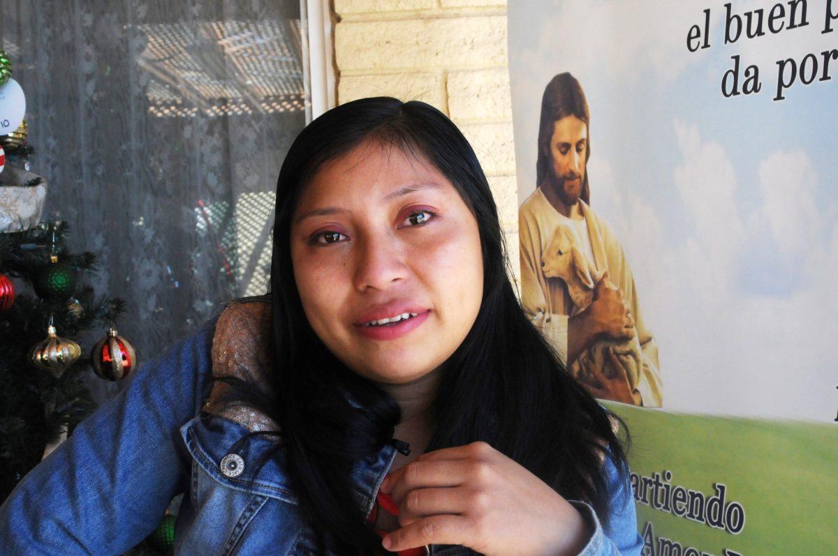 Una iglesia, el hogar de migrante abandonada por su familia al llegar a Estados Unidos
