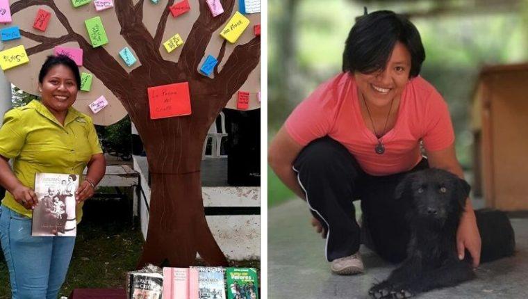 Minelca González y Regina Raxón eran docentes y participantes activas dentro de su comunidad. (Foto Prensa Libre)