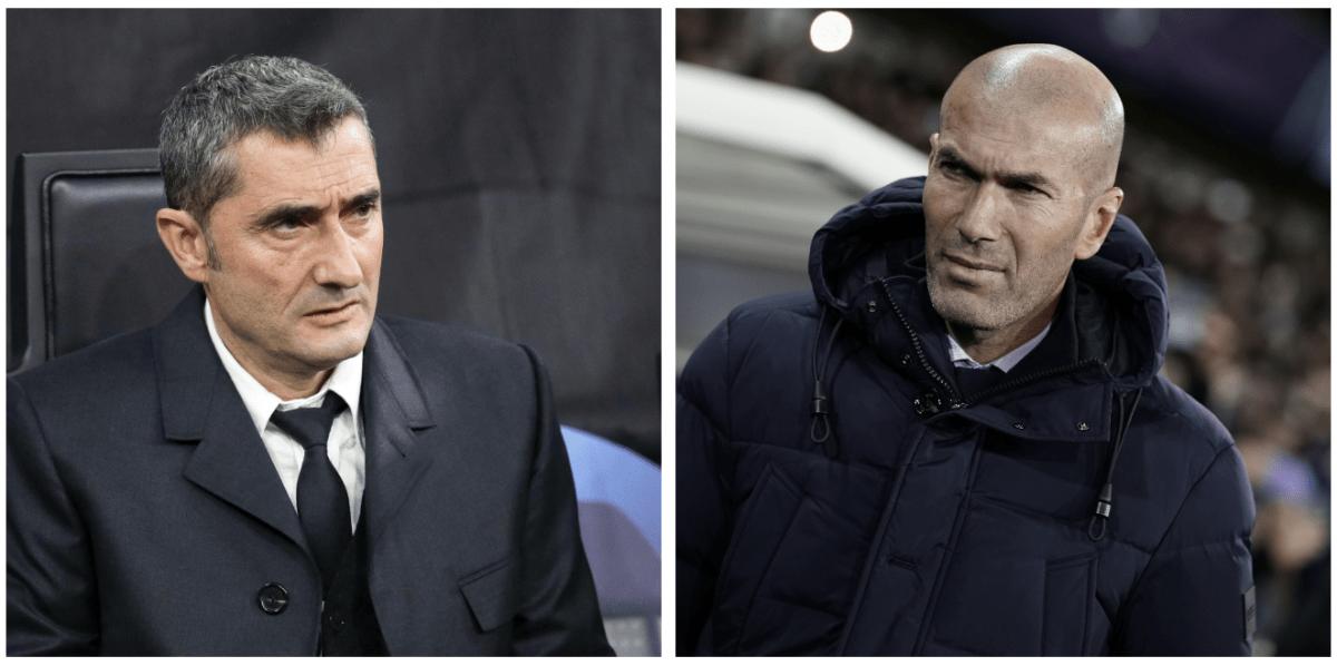 Valverde contra Zidane, duelo de entrenadores equilibristas
