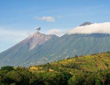 El Volcán de Fuego es uno de los más activos de Guatemala. (Foto Prensa Libre: David Us De Paz)