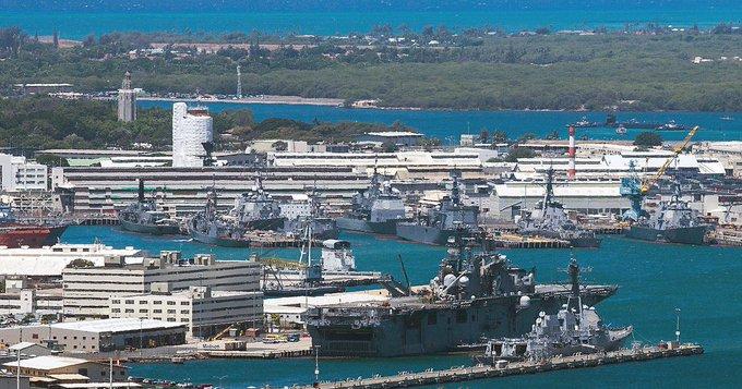 Tiroteo en base naval de Pearl Harbor en Hawaii deja tres muertos