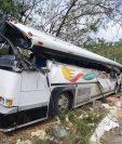 Las víctimas de percances viales, como el ocurrido en Gualán, Zacapa, están desprotegidas por que no se cumple la ley. (Foto Prensa Libre: Hemeroteca PL)