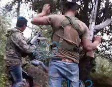 Con toda la impunidad del mundo, los carteles del narcotráfico publican videos en las redes sociales de sus ataques armados. (Captura de YouTube)