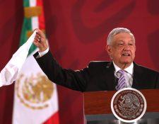 El presidente de México, Andrés Manuel López Obrador, dice que hay acuerdo inicial con EE. UU.  y Canadá por el T-MEC. (Foto Prensa Libre: EFE)