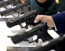 La venta de armas se incrementa en el mundo un 4.6% (Fotografía Prensa Libre. EFE)