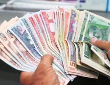 Las entidades bancarias tienen asueto pero podrán abrir ventanillas especiales. (Foto, Prensa Libre: Hemeroteca PL).