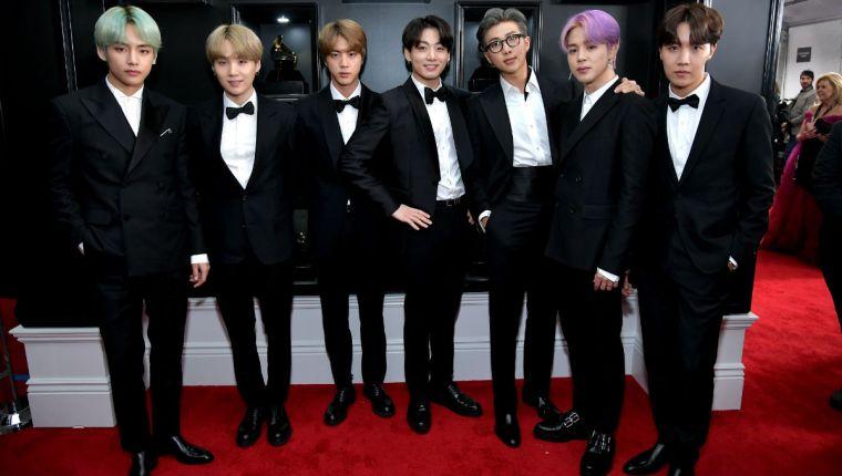La agrupación de K-pop, BTS , surgió en el 2013. (Foto Prensa Libre: Hemeroteca PL).