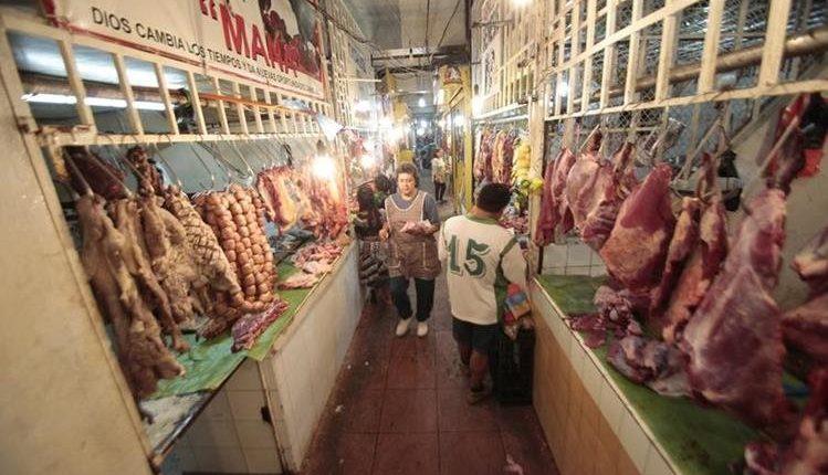 La Gremial de Expendedores de Carne advirtió de que no hay razón para que exista alzas de precios de estos productos al consumidor  final. (Foto Prensa Libre: Hemeroteca)