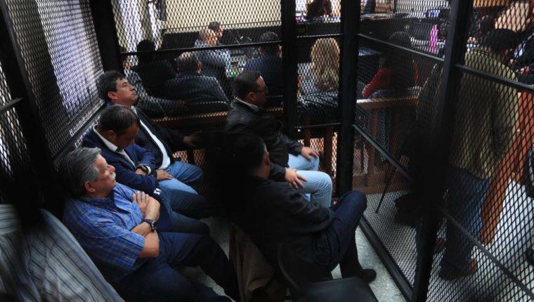 Quince personas procesadas y cinco con falta de mérito es el resultado de la audiencia de primera declaración. (Foto Prensa Libre: Hemeroteca PL)
