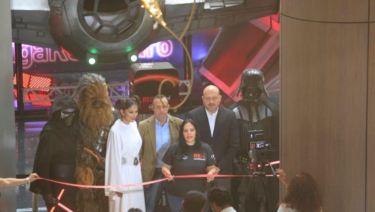 Claro por medio del Red Weekend lleva a sus clientes a una galaxia diferente. Foto Prensa Libre: Norvin Mendoza