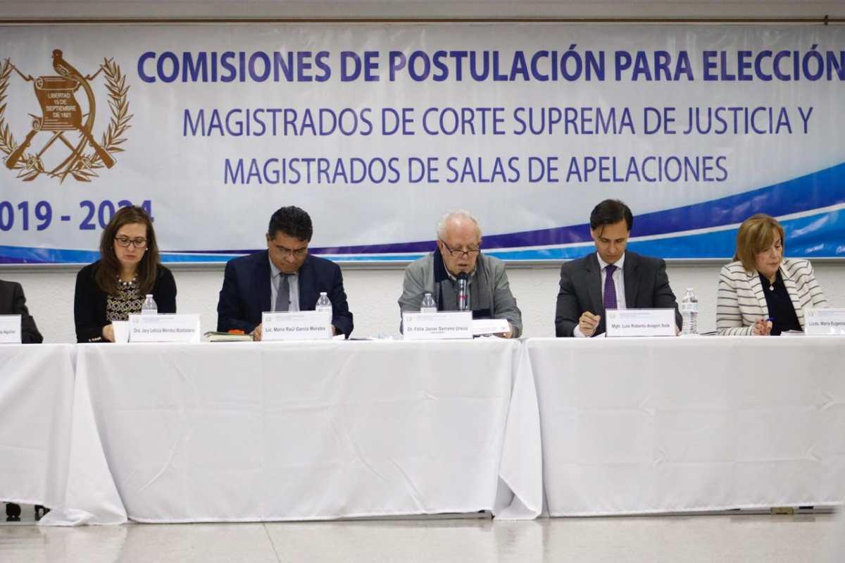 Interesados en postularse a una magistratura de la CSJ deberán entregar expedientes del 3 al 6 de enero del 2020