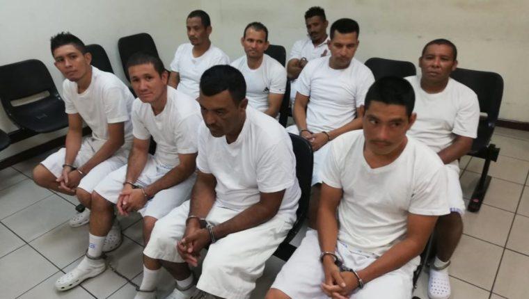 Los guatemaltecos fueron enviados a prisión en El Salvador. (Foto Prensa Libre: FGR)
