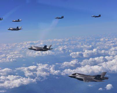 """EE. UU. busca la creación de una fuerza aérea especial ante """"la amenaza de China y Rusia"""". (Foto: AFP)"""