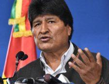 Evo Morales se encontraba asilado en México. (Foto: Hemeroteca PL)