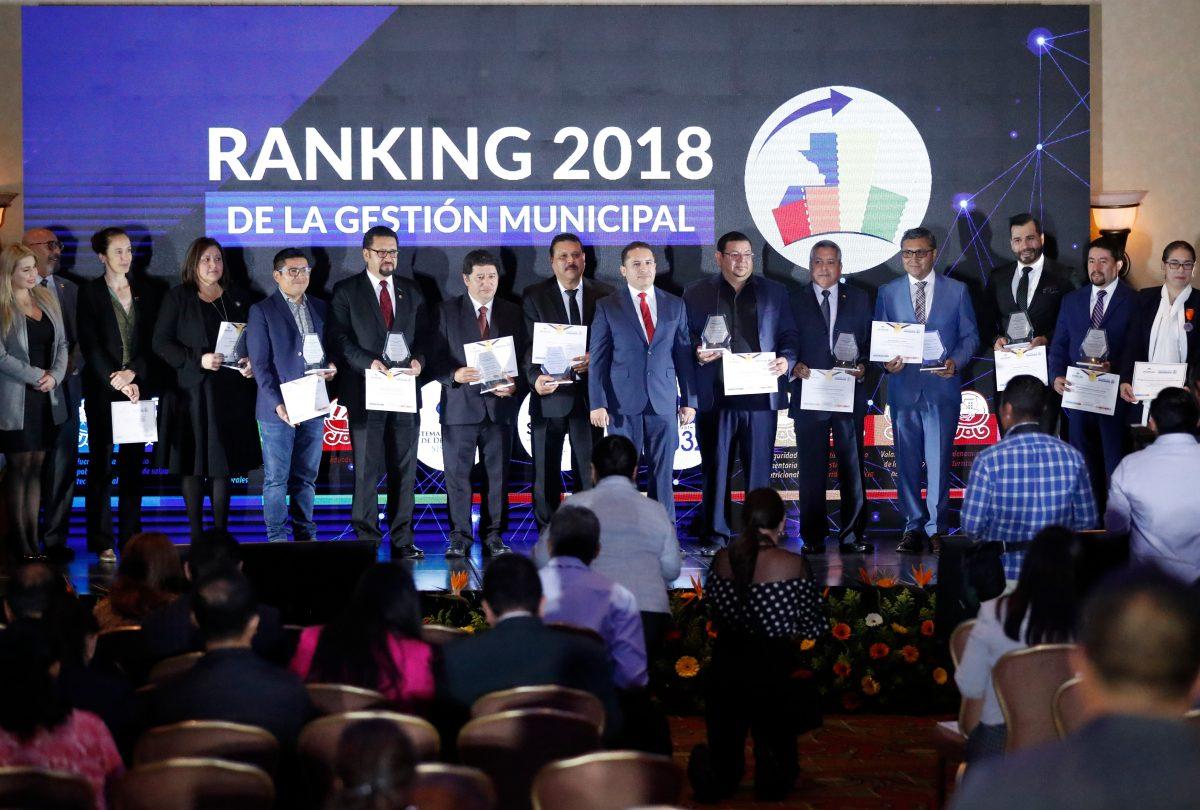 Estos son los municipios con mejor desempeño según el ranking 2018 elaborado por Segeplan