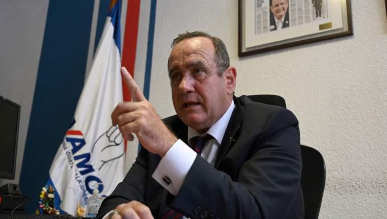 Alejandro Giammattei asumirá este 14 de enero la presidencia de Guatemala. (Foto Prensa Libre: AFP)