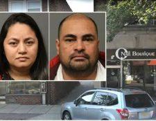 Los guatemaltecos Juan y Magda Quevedo-García fueron acusados de lavado de dinero, estructuración financiera ilegal y conspiración. (Foto Prensa Libre: Daily Voice)