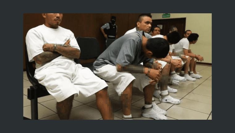 Los pandilleros fueron acusados de varios delitos. (Foto: Cortesía La Prensa Gráfica)