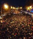 Manifestación en Madrid para hacer conciencia sobre el cambio climático. (Foto Prensa Libre: @GretaThunberg)