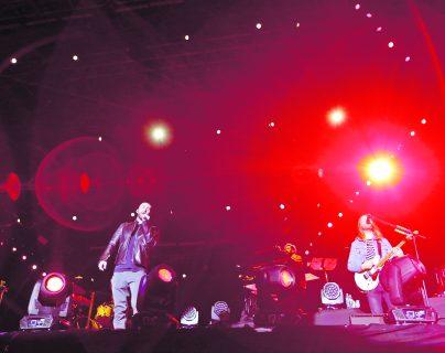 El grupo estadounidense Maroon 5, se presentó en marzo de 2018 en Guatemala. (Foto Prensa Libre: Keneth Cruz)