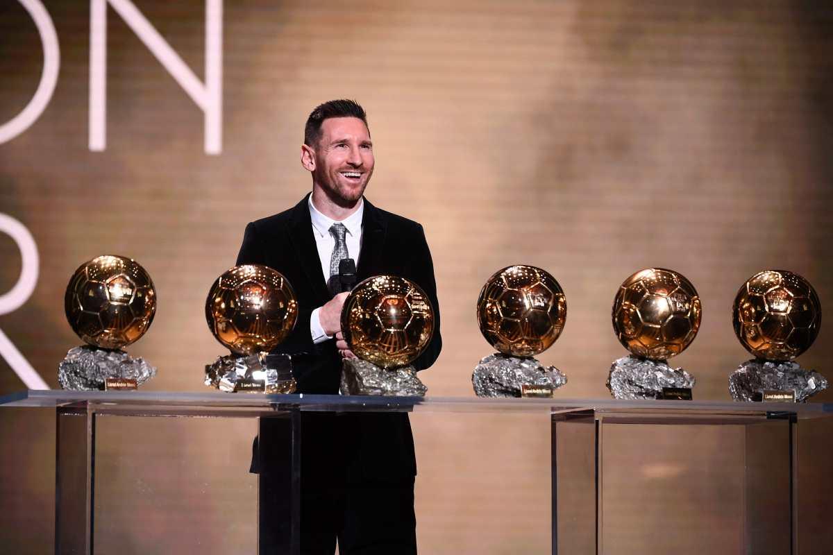 Por esta mínima diferencia Messi ganó su sexto Balón de Oro
