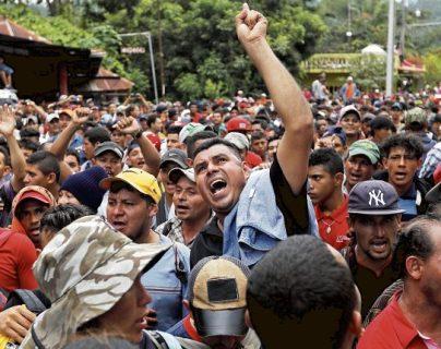 La Comar recibió 70 mil 302 solicitudes de personas que buscaron refugio en México durante el 2019, se informó este martes. (Foto Prensa Libre: Hemeroteca)