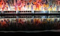 """En el edificio del Instituto Guatemalteco de Seguridad Social (IGSS), se lleva acabo la restauraci—n del mural """"La Seguridad Social"""".   FOTOGRAFêA: FERNANDO CABRERA"""