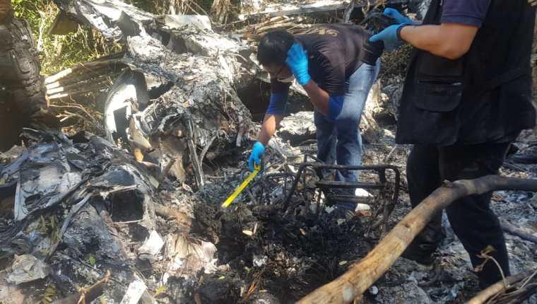 La avioneta fue detectada por los radares de la Fuerza Aérea Guatemalteca (FAG). (Foto Prensa Libre: Ejército de Guatemala)