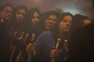 En este cortejo participan varios vecinos del barrio recoleto. Foto Prensa Libre: Óscar Rivas