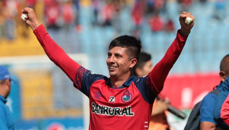 Municipal festejó la clasificación a la final, donde el argentino Alejandro Díaz fue determinante. (Foto Norvin Mendoza).