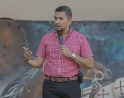 El alcalde de Ayutla, San Marcos, Érick Súñiga que es requerido por Estados Unidos. (Foto Prensa Libre: Hemeroteca PL)