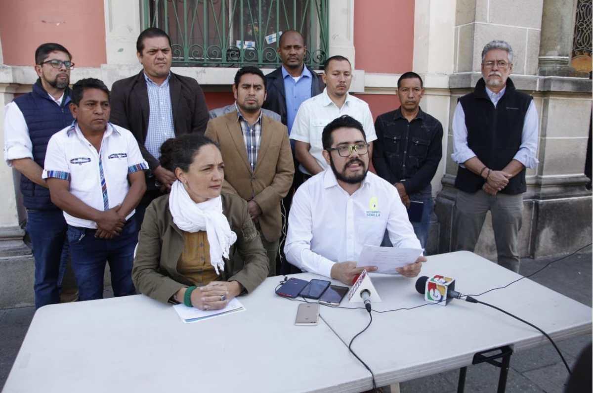 Bases políticas del Movimiento Semilla reclaman falta de transparencia en gastos de campaña