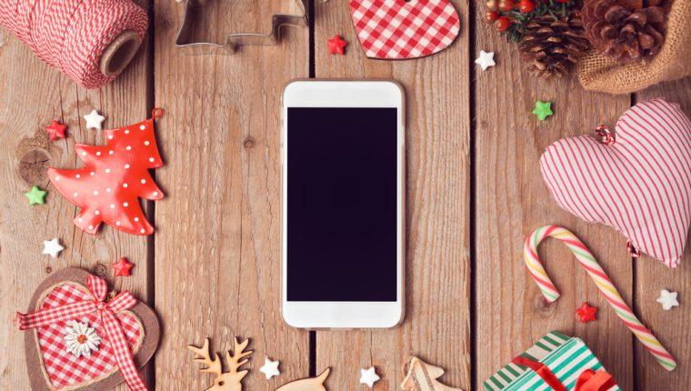 Conozca opciones novedosas para crear saludos navideños por medio de aplicaciones móviles y sitios web. (Foto Prensa Libre: Servicios).