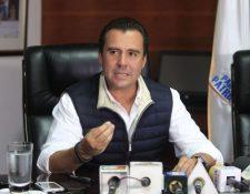 Alejandro Sinibaldi, exministro de Comunicaciones prófugo de la justicia guatemalteca y ahora de Estados Unidos. (Foto Prensa Libre: Hemeroteca PL)