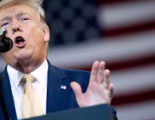 Trump sufre revés en esperadas elecciones regionales. (Foto Prensa Libre: AFP)