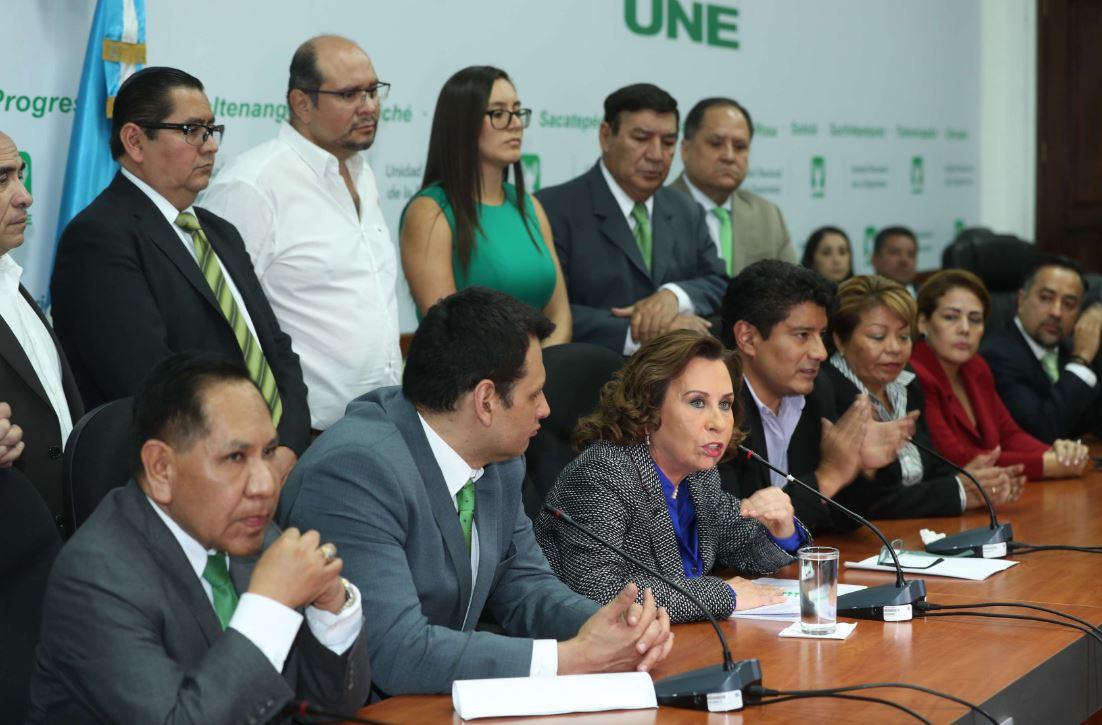 Diputados de la UNE conservarán inmunidad frente a caso de financiamiento electoral