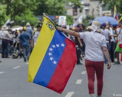 Las sanciones contra Vizcaíno y Dugarte se suman a la batería de medidas de la administración Trump contra Maduro. (picture-alliance/J. Villalta)
