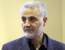 Qasem Soleimani era el máximo líder del brazo paramilitar de Irán en el extranjero. (Foto Prensa Libre: AFP)