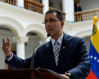 Jorge Arreaza, canciller venezolano. (Foto: AFP)