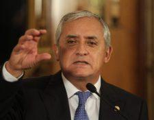 A pesar del fallo, el expresidente Otto Pérez Molina deberá permanecer en prisión por otros dos casos en su contra. (Foto: Hemeroteca PL)