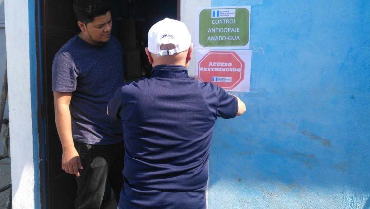 La Anado se hizo presente en el estadio Municipal de Sanarate. (Foto Prensa Libre: Cortesía La Red)