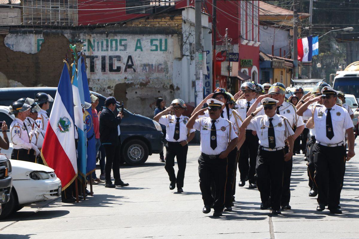 Cinco datos de la Quinta Compañía de Bomberos Voluntarios que cumple 59 años de servicios en Xela