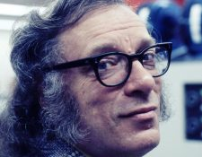 Isaac Asimov es uno de los autores de ciencia ficción más reconocidos mundialmente.