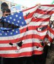 Parte de la población iraní protestó este viernes por la muerte de Soleimani en un ataque por parte de EE. UU. AFP