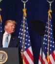 Donald Trump dice que toma medidas para detener, no iniciar, una guerra.