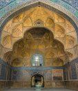 La Mezquita del Viernes de Isfahán fue catalogada Patrimonio de la Humanidad en 2012. GETTY IMAGES